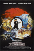 "Movie Posters:James Bond, The Living Daylights (United Artists, 1987). British One Sheet (27"" X 40""). James Bond...."