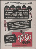 """Movie Posters:Rock and Roll, Go Go Mania (American International, 1965). Poster (30"""" X 40"""").Rock and Roll...."""