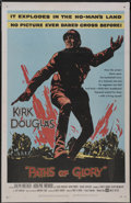 "Movie Posters:War, Paths of Glory (United Artists, 1958). One Sheet (27"" X 41"").War...."