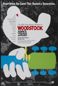 """Movie Posters:Rock and Roll, Woodstock (Warner Brothers, R-1994). One Sheet (27"""" X 41""""). Rockand Roll...."""