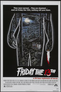 """Movie Posters:Horror, Friday the 13th (Paramount, 1980). One Sheet (27"""" X 41""""). Horror...."""