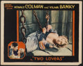 """Movie Posters:Swashbuckler, Two Lovers (United Artists, 1928). Lobby Card (11"""" X 14""""). Swashbuckler...."""