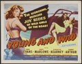 """Movie Posters:Bad Girl, Young and Wild (Republic, 1958). Title Lobby Card (11"""" X 14""""). BadGirl...."""