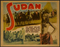 "Movie Posters:Documentary, Sudan (Foy Productions, 1930s). Title Lobby Card (11"" X 14""). Documentary...."