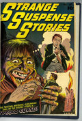 Golden Age (1938-1955):Horror, Strange Suspense Stories #5 Bound Volume (Fawcett, 1952) ....