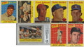 Baseball Cards:Sets, 1958 Topps Baseball Partial Set (449/495), Contest Card (1) Team Emblem Card (1).Offered is a 1958 Topps partial set of 449/...
