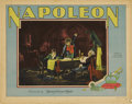 "Movie Posters:War, Napoleon (MGM, 1927). Lobby Card (11"" X 14"")...."