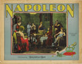 "Movie Posters:War, Napoleon (MGM, 1929). Lobby Card (11"" X 14"")...."