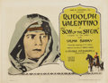 "Movie Posters:Adventure, The Son of the Sheik (United Artists, 1926). Title Lobby Card (11""X 14"")...."