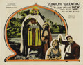 "Movie Posters:Adventure, The Son of the Sheik (United Artists, 1926). Lobby Card (11"" X 14"")...."