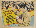 """Movie Posters:Comedy, For the Love of Mike (First National, 1927). Title Lobby Card andLobby Card (11"""" X 14"""").... (Total: 2 Items)"""
