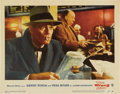 "Movie Posters:Hitchcock, The Wrong Man (Warner Brothers, 1957). Lobby Card (11"" X 14"")...."
