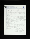 Autographs:Letters, 1970s St. Louis Cardinals Signed Letters Lot of 5. A quintet ofvintage members of the St. Louis Cardinals have responded t...