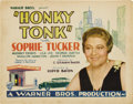 "Movie Posters:Comedy, Honky Tonk (Warner Brothers, 1929). Title Lobby Card and LobbyCards (4) (11"" X 14"").... (Total: 5 Items)"