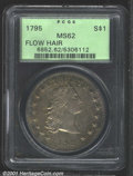 Early Dollars: , 1795 S$1 3 Leaves