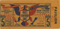 Baseball Collectibles:Tickets, 1943 St. Louis Cardinals World Series Ticket Stub. The 1940s were agood time for the St. Louis Cardinals, as they sported ...