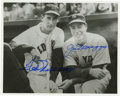 Autographs:Photos, Ted Williams and Joe DiMaggio Dual-Signed Photograph. Elegantportrait featuring the Hall of Fame duo of Ted Williams and J...