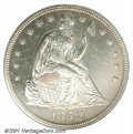 Proof Seated Dollars: , 1852 S$1