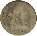 Early Dimes: , 1805 10C 5 Berries VG8 NGC. JR-1. NGC Census: (12/273). PCGSPopulation (8/246). Mintage: 120,780. Numismedia Wsl. Price fo...