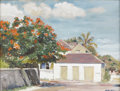 Paintings, DMITRI VAIL (dec. 1991). Nassau, 1960. Oil on canvas. 18in. x 24in.. Signed lower right. Dmitri Vail was a noted portr...