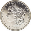 Proof Morgan Dollars: , 1899 $1 PR68 Cameo NGC. An elegant piece with pristine surfaces andamazing aesthetic appeal,...
