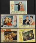 """Movie Posters:Musical, Bing Crosby Lot (Paramount, 1939-1952). Lobby Cards (5) (11"""" X14""""). Musical. Starring Bing Crosby. """"The Star Maker"""" (1939),...(Total: 5 Items)"""