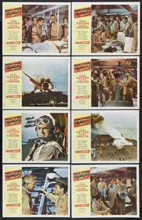 "Flat Top (Monogram, 1952). Lobby Card Set of 8 (11"" X 14""). War. Starring Sterling Hayden, Richard Carlson, Ke..."