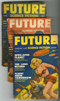 Pulps:Science Fiction, Future Group (Columbia, 1943-54) Condition: Average GD/VG....(Total: 8)