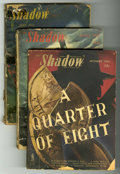 Pulps:Detective, Shadow Group (Street & Smith, 1943-46) Condition: AverageGD.... (Total: 6)