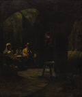 Fine Art - Painting, European:Antique  (Pre 1900), ANDERS MONTAN (Swedish, 1845-1917). In the Wine Cellar,circa 1880. Oil on canvas. 31-1/2 x 25-3/4 inches (80.0 x 65.4 c...