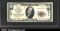 National Bank Notes:New York, Hamden, NY - First National Bank$10 1929 Ty. 1 Ch. # 12...