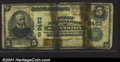 National Bank Notes:West Virginia, Shinnston, WV - First National Bank$5 1902 Fr. 600 Ch. ...