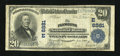 National Bank Notes:Pennsylvania, Plymouth, PA - $20 1902 Plain Back Fr. 650 The Plymouth NB Ch. #(E)6881. ...