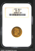 Early Quarter Eagles: , 1797 $2 1/2