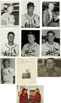 "Autographs:Photos, St. Louis Cardinals Stars Signed Photographs Lot of 10. Each of thesigned pieces here, mostly 5x7"" photographs, come beari..."