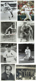 """Autographs:Photos, Vintage St. Louis Cardinals Stars Signed Photographs Lot of 17.High-quality collection of 17 signed 8x10"""" photos from form..."""