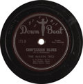 """Music Memorabilia:Recordings, Ray Charles 78s, Group of 12 (1949-56). """"The Genius"""" began hisrecording career with The Maxin Trio in 1949, and two copies ...(Total: 12 Items Item)"""