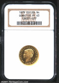 Proof Four Dollar Gold Pieces: , 1879 $4 COIL HAIR