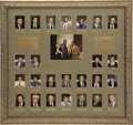 Movie/TV Memorabilia:Photos, Tommy Lasorda CENSORED Club Lifetime Achievement Award PhotoDisplay. A large display from the walls of the Beverly Hills CE...(Total: 1 Item)