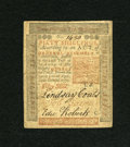Colonial Notes:Pennsylvania, Pennsylvania April 10, 1775 50s Extremely Fine....