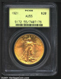 Saint-Gaudens Double Eagles: , 1921 $20
