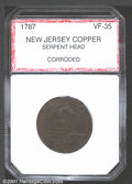 Additional Certified Coins: , 1787 NJERSY SERPENT HD, BN