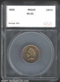 Additional Certified Coins: , 1859 1C