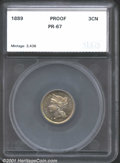 Additional Certified Coins: , 1889 3CN