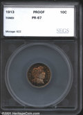Additional Certified Coins: , 1913 10C