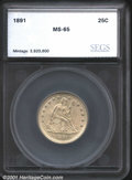 Additional Certified Coins: , 1891 25C