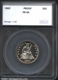 Additional Certified Coins: , 1882 25C