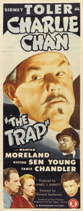 """Movie Posters:Mystery, The Trap (Monogram, 1946). Insert (14"""" X 36"""")...."""
