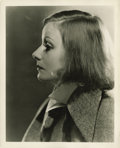 "Movie Posters:Drama, As You Desire Me (MGM, 1932). Greta Garbo Publicity Still byClarence Bull (8"" X 10"")...."