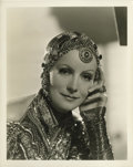 "Movie Posters:Romance, Mata Hari (MGM, 1931). Greta Garbo Portrait Still by Clarence Bull(8"" X 10"")...."